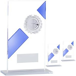 Простой стеклянный трофей ...