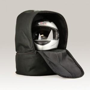 Helmet bag Düsseldorf HBS-1 for H.A.N.S with shoe...